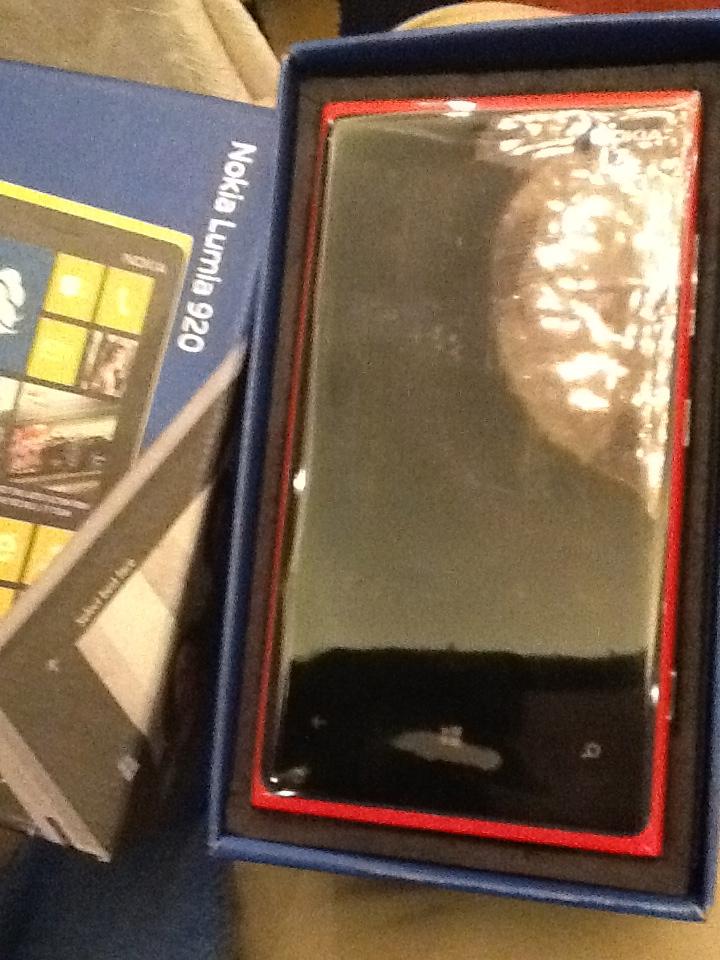 New Red Lumia 920