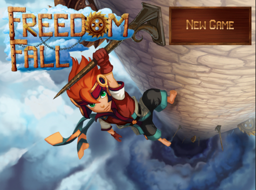start screen freedom fall