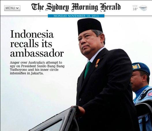Headline Koran di Australia