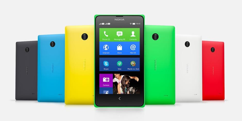 Gambar Nokia X diambil dari nokia.com
