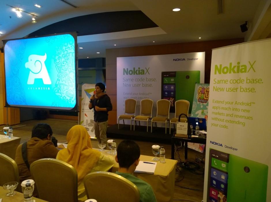 Sesi launching di novotel hotel bandung