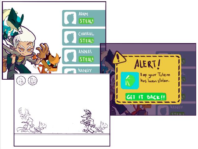 Iterasi konsep ke 2, mengusung tema thief dan gameplay yang lebih dalam