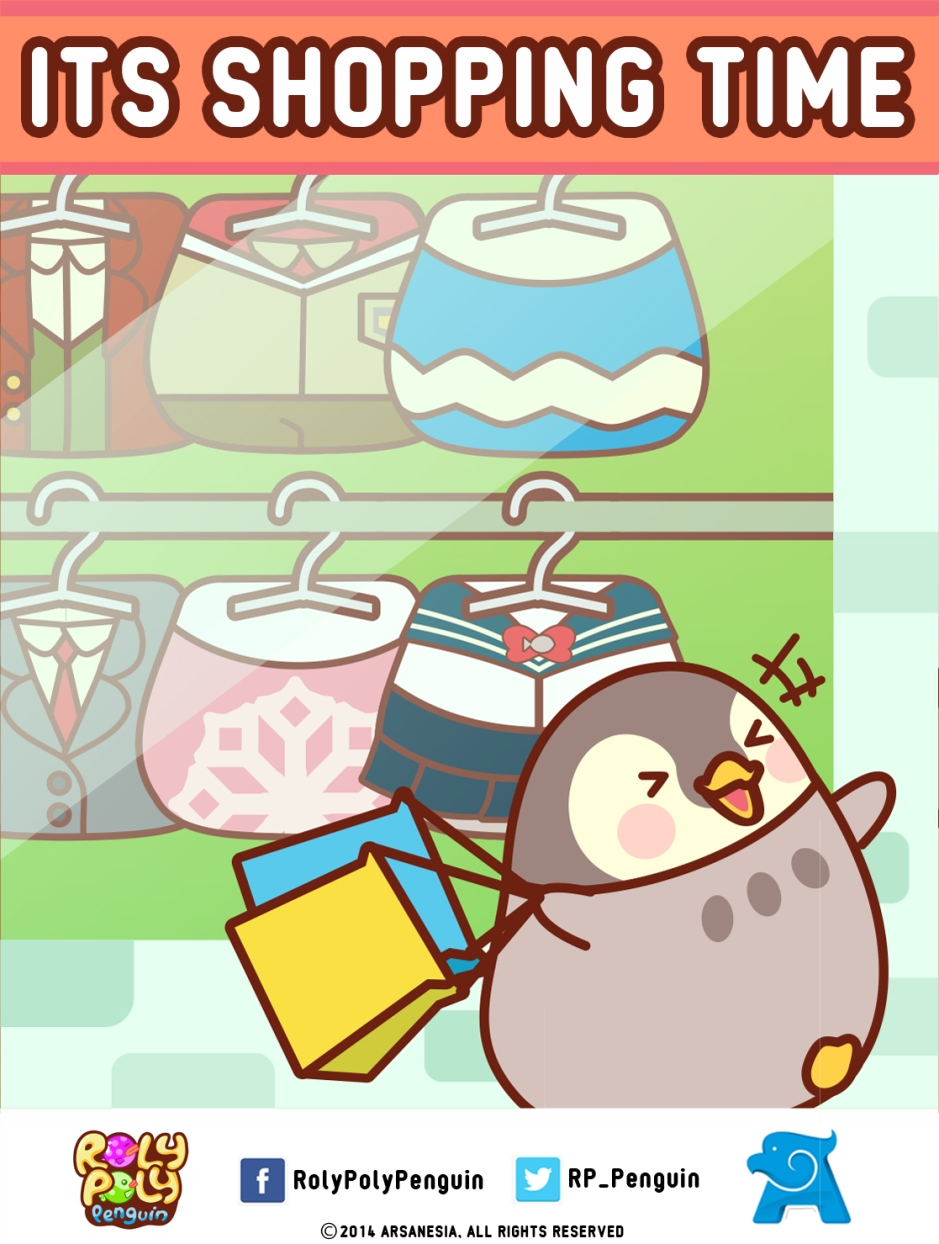 Fitur Baru Roly Poly Penguin, Mix and Match