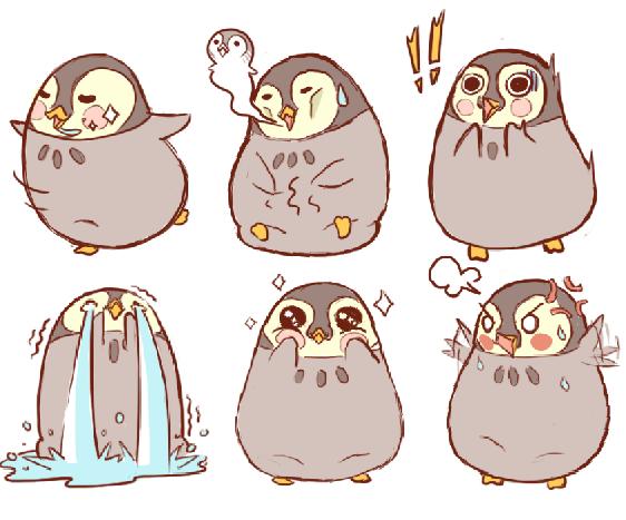 Pengembangan Karakter Pippo untuk game Roly Poly Penguin