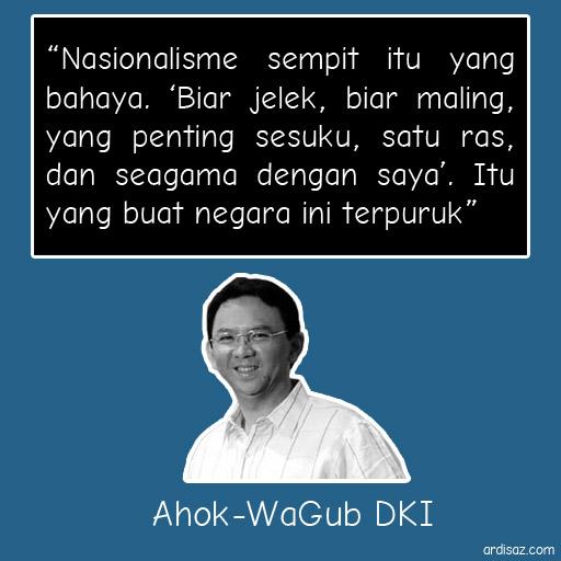 Quote Pak Ahok - Wagub DKI