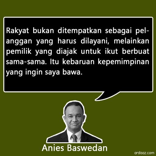quote anies baswedan pemimpin