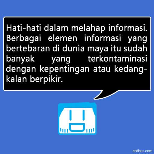 quote informasi adam