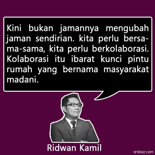 quote ridwan kamil