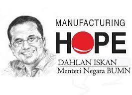 """Konsep """"Manufacturing Hope"""" melalui tulisan"""