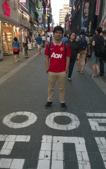 Myeongdong, pusat jajanan dan perbelanjaan utk turis
