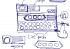 Gonta-ganti posisi button dan informasi yang ditampilkan dalam dalam satu container