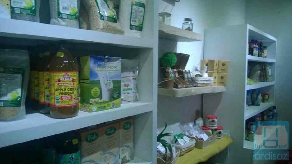 Contoh barang-barang yang dijual di toko organik