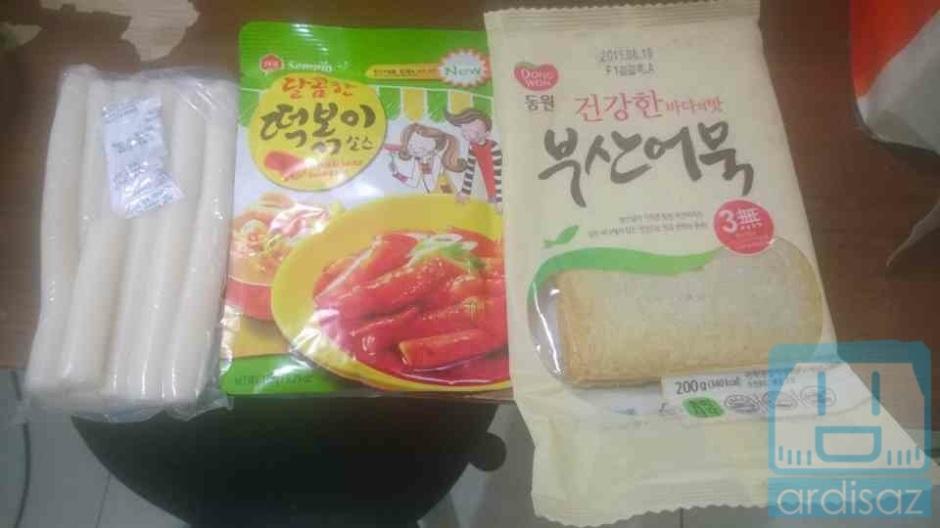 Rice Cake, Bumbu Instant, dan Fish Cake