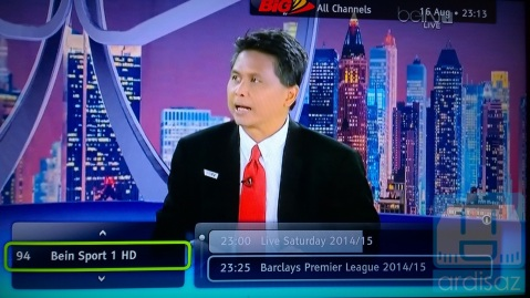 Channel HD nya bersih