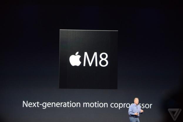Sensor gerak M8. sumber: theverge
