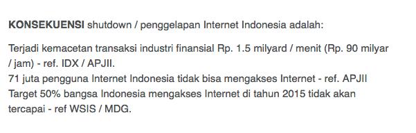 Ancaman dari para ISP