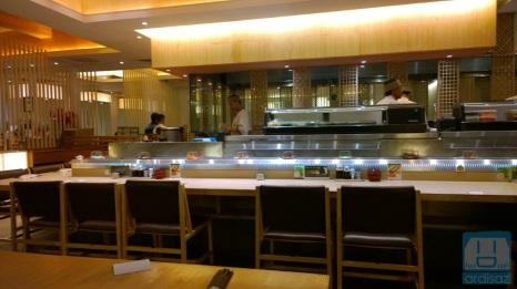 Suasana Sushi Tei Bandung