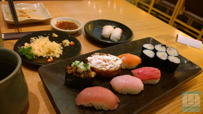 Sushi Tei Restoran Sushi Favorite Saya Ardisaz