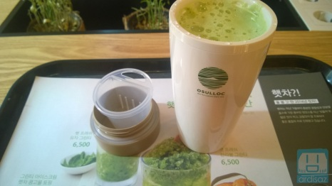 Cobain Green Tea Latte