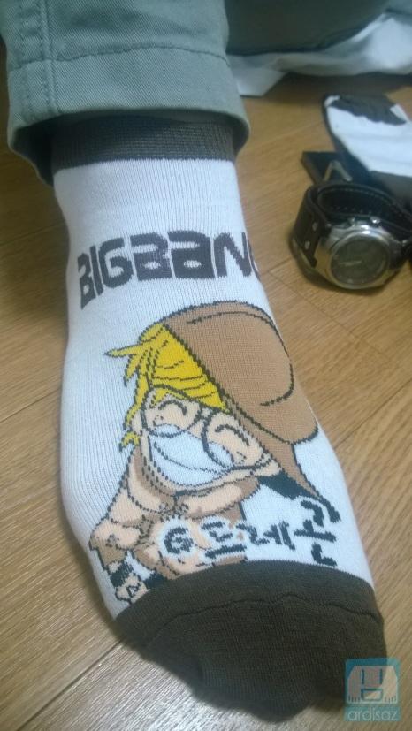 Beli kaos kaki G-Dragon :p