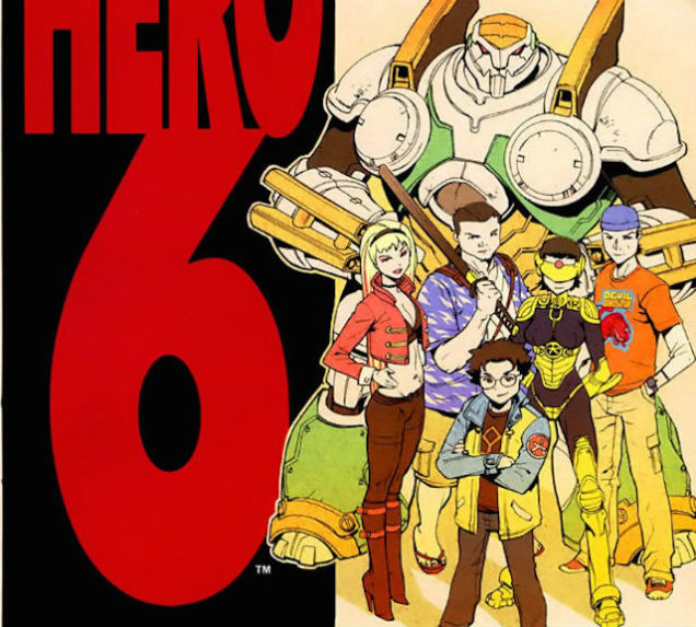 Big Hero 6 versi komik