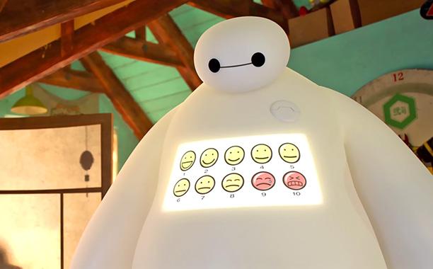 Robot paling huggable