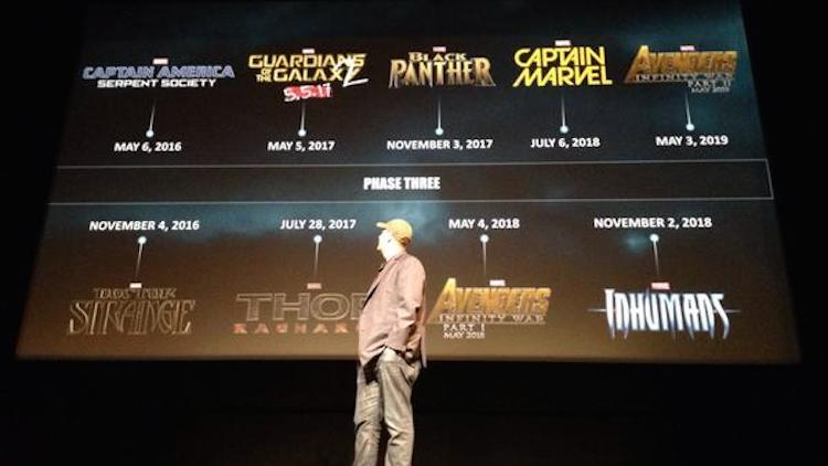 Upcoming Marvel Movies: Release Dates For