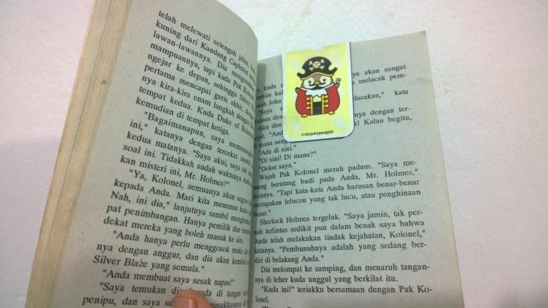 Pembatas Buku Magnet Pippo