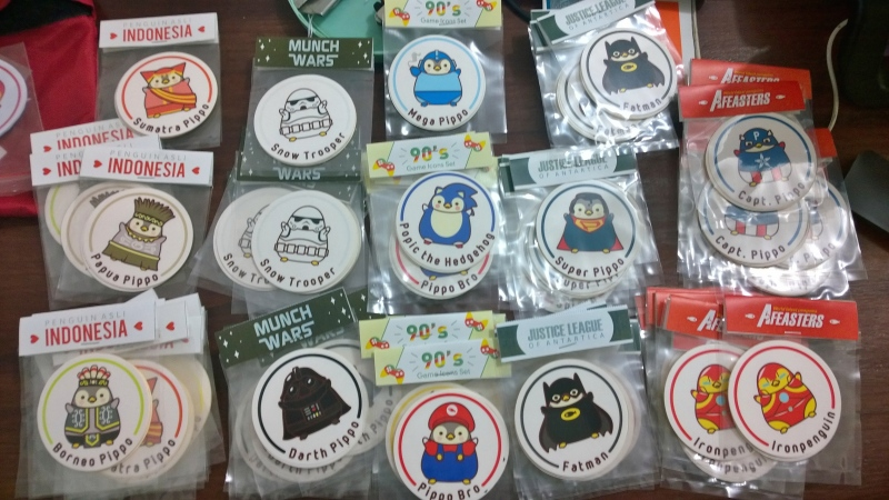 Sticker Set Pippo