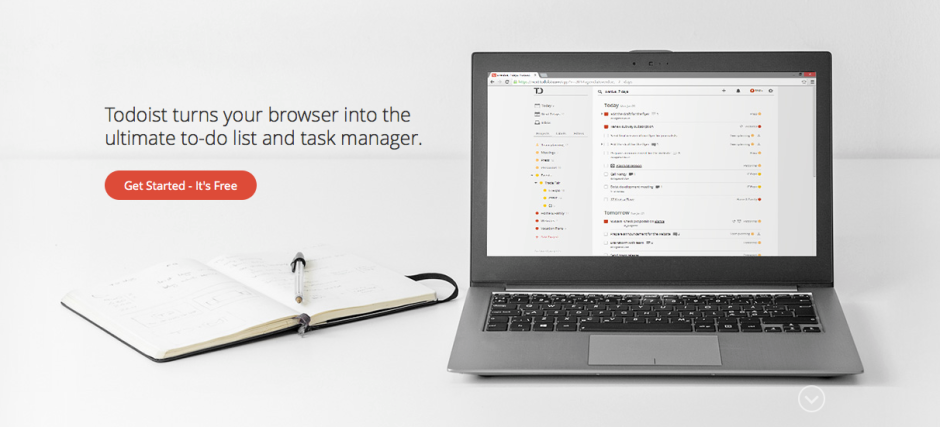 Todoist for browser plugin