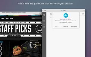 Fitur Blogo esktensi browser