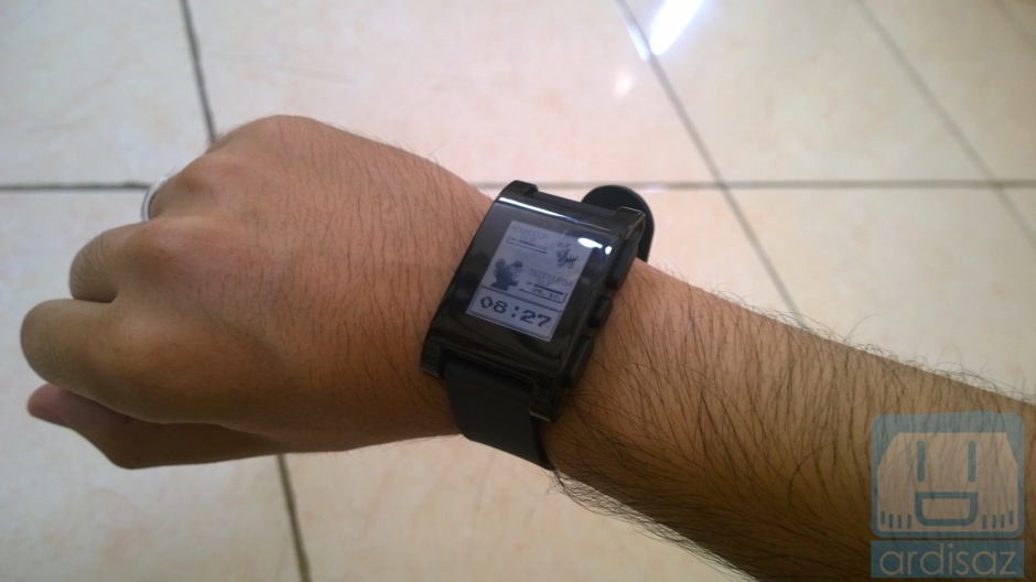 Pebble Smartwatch -1