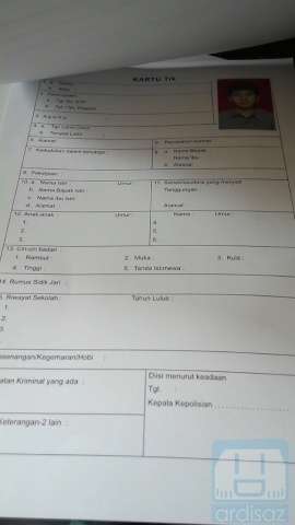 Cara Membuat Surat Keterangan Catatan Kepolisian Skck