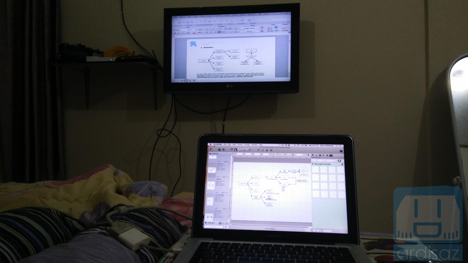 Dua monitor -4