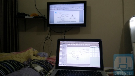 Laptop sambung ke TV 2