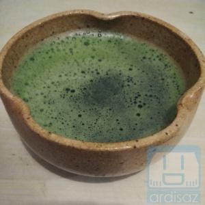 Langsung meneguk green tea sampe rumah :p