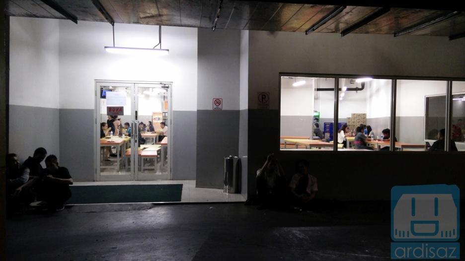 Kantin Karyawan di Lotte