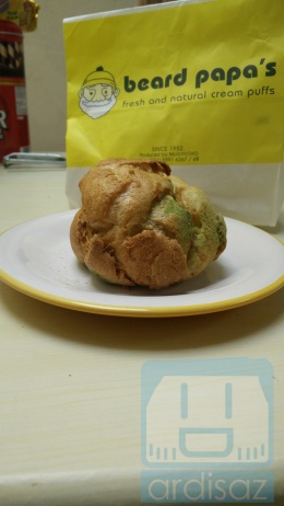 Beard Papa Green Tea