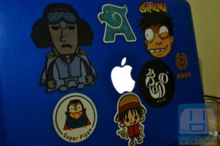 Stiker Luffy