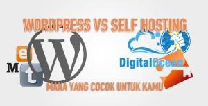 wordpress vs self hosting