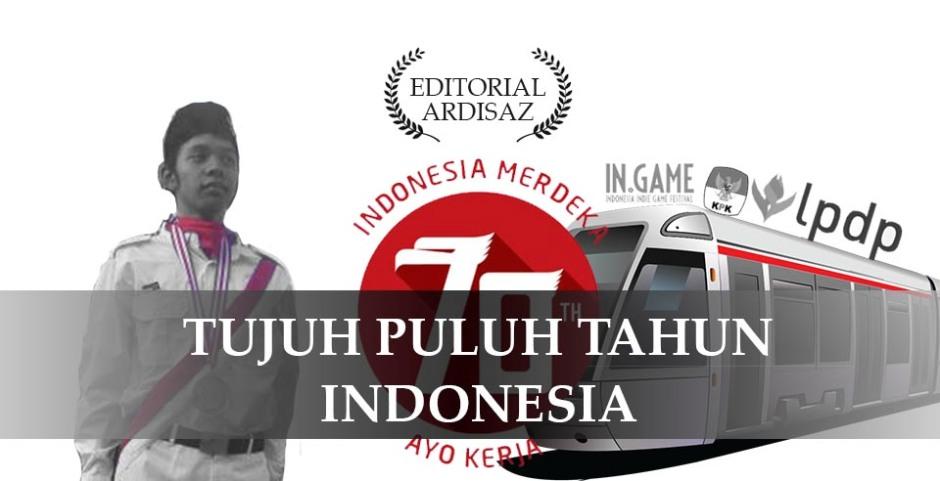 70 tahun indonesia