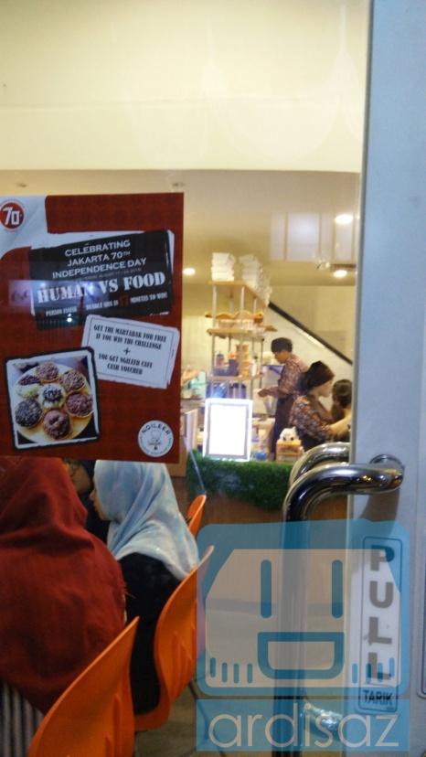 Suasana Ngileer Cafe BSD dari depan 2