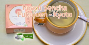 peach sencha fukujuen kyoto