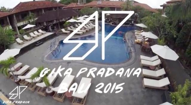 Videografi menggunakan Drone karya Gika Pradana