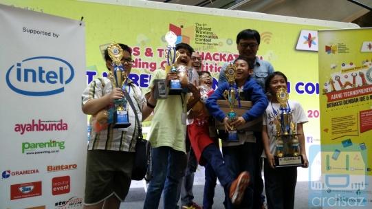 Pemenang Kontes Pemrograman Untuk Anak-Anak