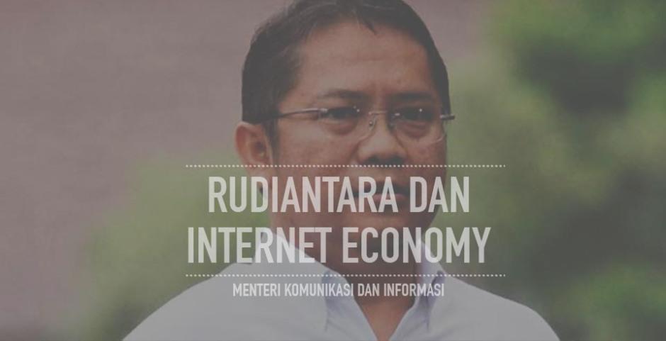 rudiantara dan internet ecomony