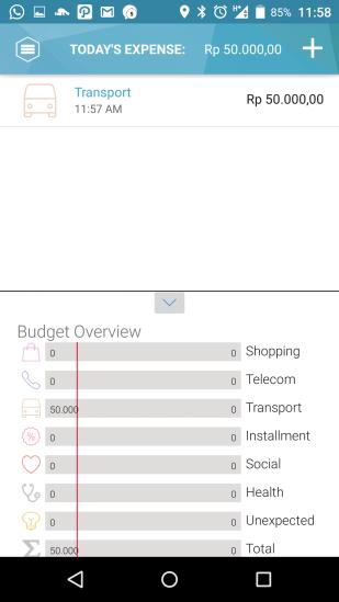 Jojonomic - budget overview