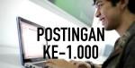 POSTINGAN KE 1000ardisaz