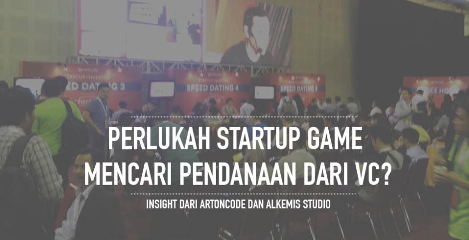 startup game mencari vc
