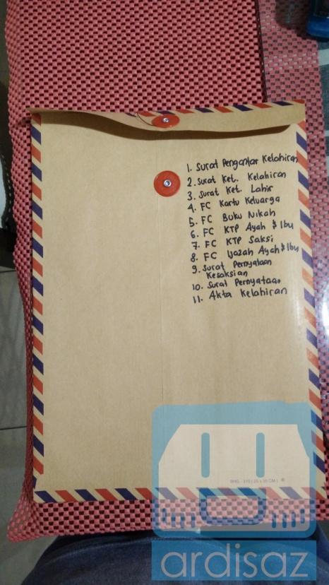 List lengkap berkas